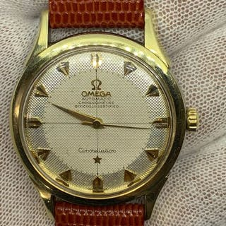 Omega - constellation pie pan texture arrow dial - 2852-1...