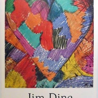Jim Dine - Galerie Maeght Paris 1983 - handsigniert