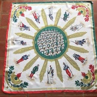 Hermès - Militaire la Légion  foulard