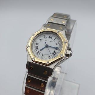 Cartier - Santos Octagon - 090745526 - Mujer - 1980-1989