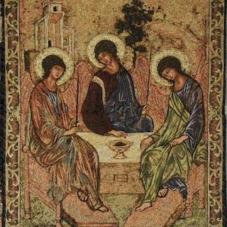 """Wandteppich """"Holy Trinity"""" (Fragment) der..."""
