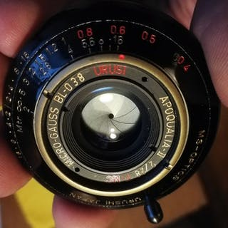 MS-Optics Apoqualia Urushi 28mm f/2 Black
