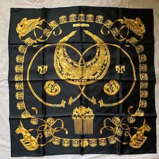 Hermès - Cavalier d'or Hermes Scarf