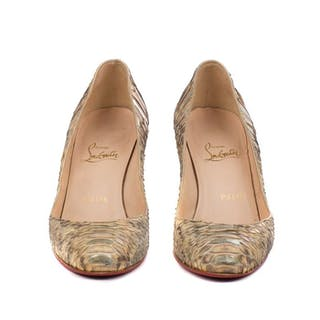 cdc7ee276 Christian Louboutin - Fifi 85 mm Pumps - Size: FR 37