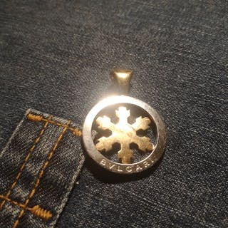 Bvlgari - 14 kt. Steel, Yellow gold - Pendant