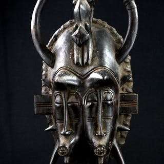 Mask - Wood - N'Gambele - Senufo - Ivory Coast