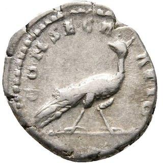 Imperio Romano - Denarius - Diva Faustina (140-141 A.D)