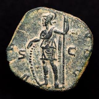 Imperio Romano - Sestertius - Gallienus (253-268 AD) Rome - VIRTVS AVGG / S - C