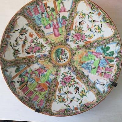 Assiette (1) - Porcelaine - Chine - XIXe siècle