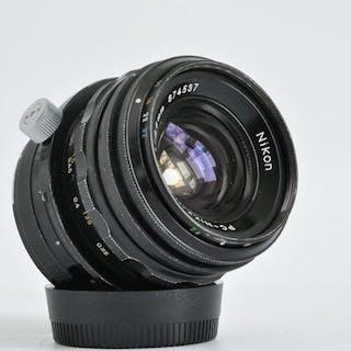 Nikon PC-Nikkor 1:2.8 35mm no. 874537
