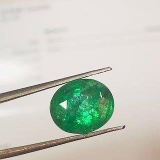 1 pcs Giallo, Verde Tsavorite - 8.37 ct