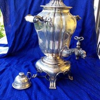 Samovar - .800 silver - Italy - First half 20th century