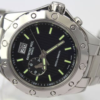 """Raymond Weil - Sport Dual Time """"NO RESERVE PRICE""""- 8200..."""