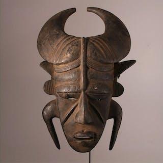 Mask - Wood - Ligbi - Ivory Coast