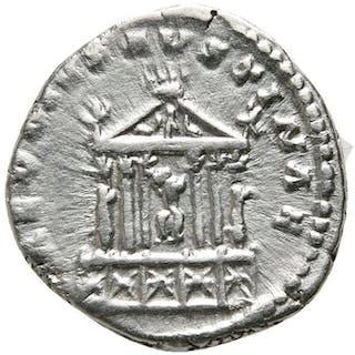 Roman Empire - Denarius - Diva Faustina (140-141 A.D)