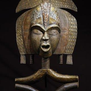Sculpture - Wood - Bakota - Gabon