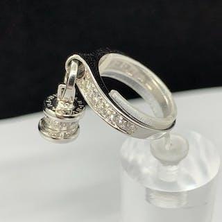 Bvlgari - B.Zero 1 Diamond charm AN853924 White gold - Ring Diamond