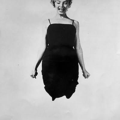 Philippe Halsman (1906-1979) - Marilyn Monroe, 'Jump', 1959