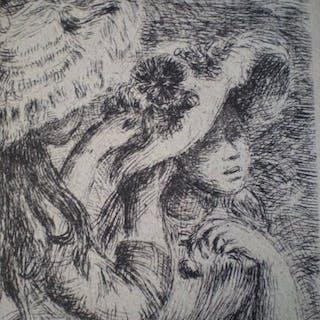 Pierre Auguste Renoir (1841-1919) - Le chapeau épinglé