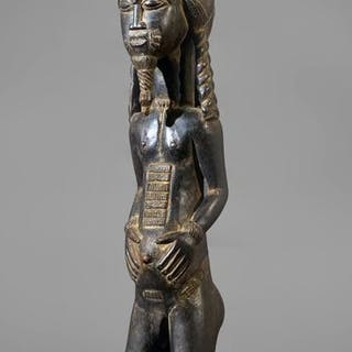 Skulptur - Holz - Baule - Elfenbeinküste