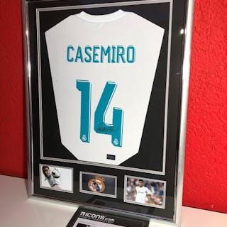 Real Madrid - European Football League - Casemiro - 2017 - Jersey