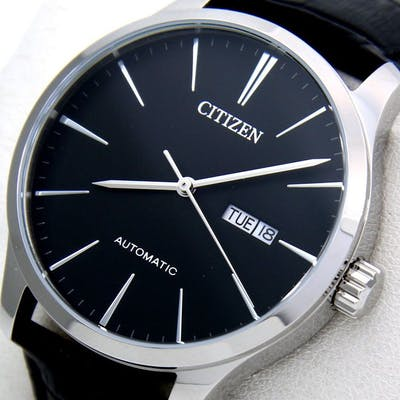 "Citizen - Automatic ""Black Dial"" Leather band - - ""NO..."