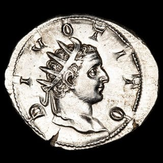 Imperio Romano - Antoninianus - Trajan Decius (249-251 A.D.) DIVO TITO