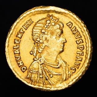 Imperio Romano - Solidus- Valentinian II