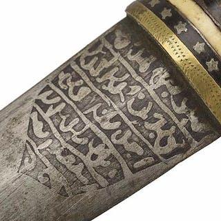 Turquía - daga (hancer) ottomano- Daga