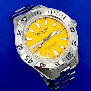 Louis Erard - Automatic Diver Sportive Collection Yellow...