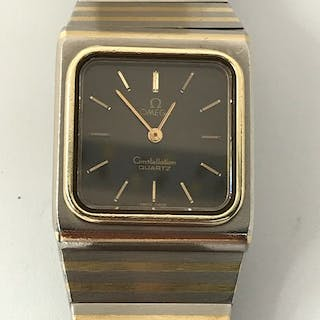 "Omega - Constellation - ""NO RESERVE PRICE"" - 1351 - Femme - 1980-1989"
