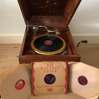 Pathe - Olotonal (VERY RARE!) - 78 rpm Grammophone player