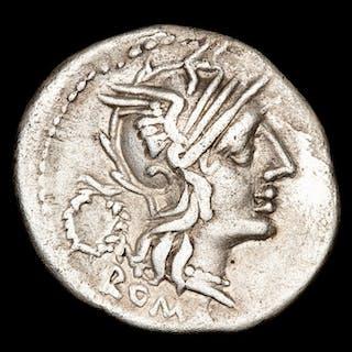 Repubblica romana - Denarius - T