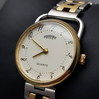 "Hermès - ""NO RESERVE PRICE"" Arceau 18k GP -- 115638 - Women - 1990-1999"