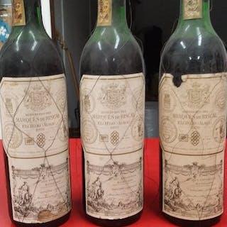 1970 Marques de Riscal- Rioja - 3 Bottles (0.75L)