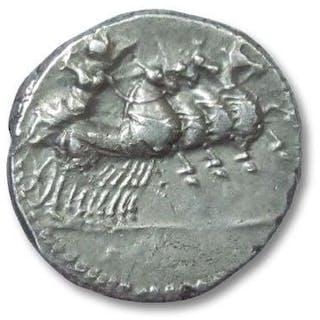 Repubblica romana - AR denarius. anonymous issue, Rome 86 B.C. - Argento