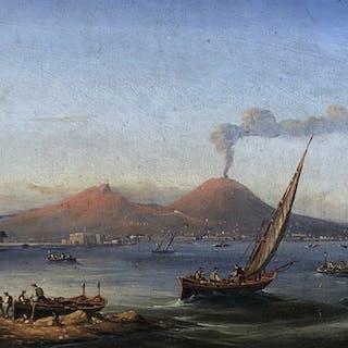 Gian Gianni ( 1837 – ?) - Marina di Napoli