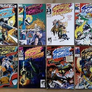 Ghost Rider/Blaze: Spirits of Vengeance - 23X Complete Series - #1-23 - Venom