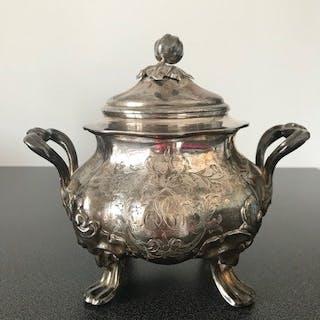 Sucrier - Argent 950 - France - Fin du XIXe siècle