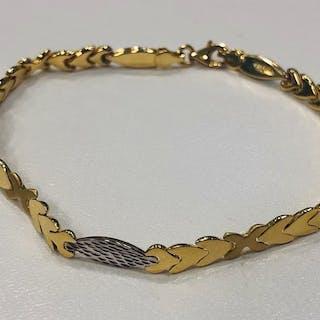 18 kt. Gold, White gold, Yellow gold - Bracelet