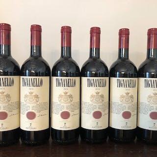 2016 Antinori Tignanello - Toscana IGT - 6 Bottiglie (0,75 L)