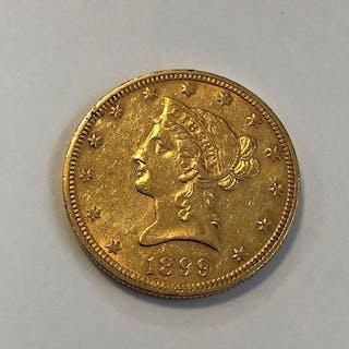 United States - 10 Dollars 1899 Liberty Head - Gold