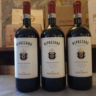 2015 Frescobaldi, Nipozzano - Toskana DOCG - 3 Magnum (1,5 L)