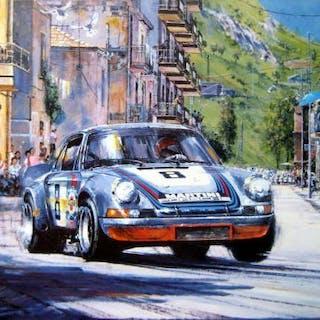 Fine Art Print - Porsche 911 Carrera RSR #8/Van...