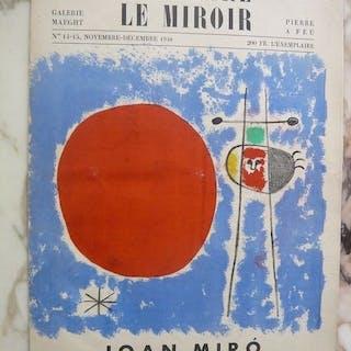 Joan Miro - Derrière le Miroir