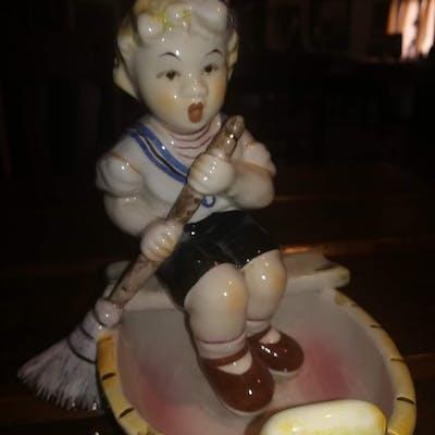 Elsa Lagorio Lenci - figurina - Ceramica