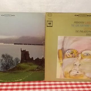 Prokofiev,Barenboim,Brukner,Brahms - Diverse Künstler...