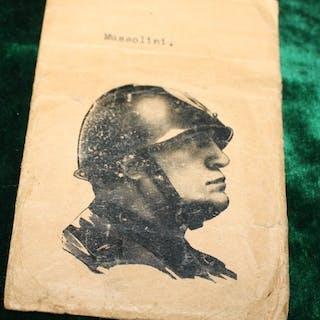 Germania - Piatto da stampa di Benito Mussolini, alto circa 75 mm - 1938