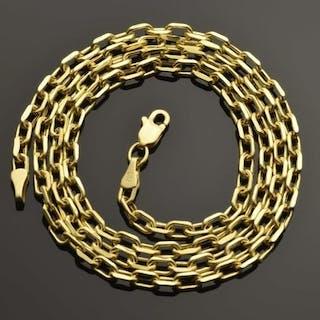 18 quilates Oro amarillo - Collar