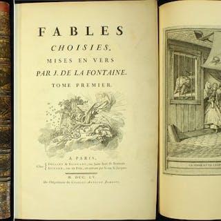 Jean de La Fontaine / Jean-Baptiste Oudry - Fables - 1755/1759